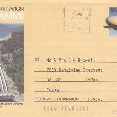 Sellos: CORREO AEREO: AUSTRALIA 1988. Lote 277467973