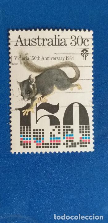 AUSTRALIA. YVERT 889. AÑO 1984. FAUNA. 150 ANIVERSARIO FUNDACIÓN COLONIA DE VICTORIA (Sellos - Extranjero - Oceanía - Australia)