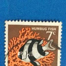 Sellos: AUSTRALIA. FAUNA, PEZ. HUMBUG FISH. YVERT 325.. Lote 278492728