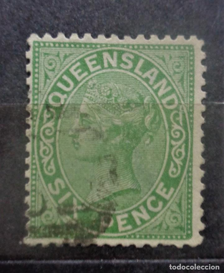 AUSTRALIA QUEENSLAND (Sellos - Extranjero - Oceanía - Australia)