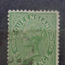 Sellos: AUSTRALIA QUEENSLAND. Lote 286336503