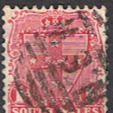 Sellos: NUEVA GALES AUSTRALIA // YVERT 75 // 1897-98 ... USADO. Lote 287944938