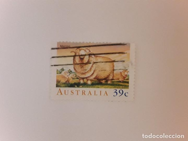 AUSTRALIA SELLO USADO (Sellos - Extranjero - Oceanía - Australia)