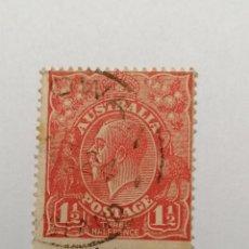 Sellos: SELLO AUSTRALIA ,1924,1,5 PENNY, 1 UNID., USADO.. Lote 288207033