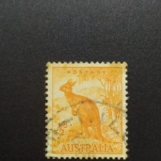 Sellos: ## AUSTRALIA USADO 1937 CANGURO 1/2D##. Lote 288398878