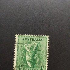 Sellos: ## AUSTRALIA USADO 1937 KOALA 4D##. Lote 288399088