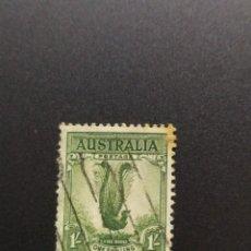 Sellos: ## AUSTRALIA USADO 1937 AVE 1L##. Lote 288399443