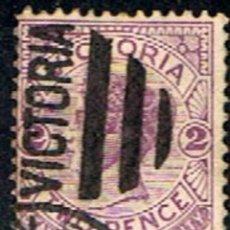 Sellos: VICTORIA. AUSTRALIA // YVERT 92 // 1884-86 ... USADO. Lote 288556828