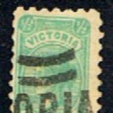 Sellos: VICTORIA. AUSTRALIA // YVERT 119 // 1901 ... USADO. Lote 288557068