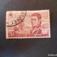 Sellos: SELLO AUSTRALIA. MATTHEW FLINDERS $1 NAVEGANTES 1974. Lote 290985008