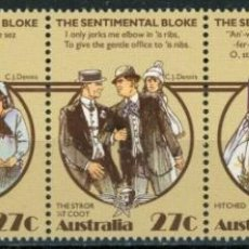 Sellos: AUSTRALIA 1983 IVERT 835/9 *** LA FAMILIA AUSTRALIANA (II). Lote 294159678