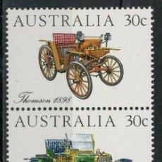 Sellos: AUSTRALIA 1984 IVERT 850/4 *** AUTOMÓVILES ANTIGUOS - COCHES. Lote 294160148