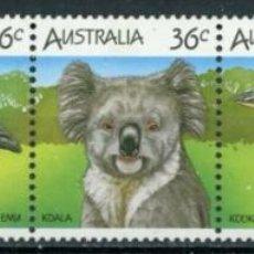 Sellos: AUSTRALIA 1986 IVERT 964/8 *** FAUNA - ANIMALES TIPICOS AUSTRALIANOS. Lote 294161413