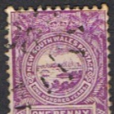 Sellos: NUEVA GALES DEL SUR . AUSTRALIA // YVERT 59 // 1888 ... USADO. Lote 295692728