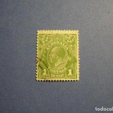 Sellos: AUSTRALIA 1932 - JEFES DE ESTADO - REY JORGE V.. Lote 295776893