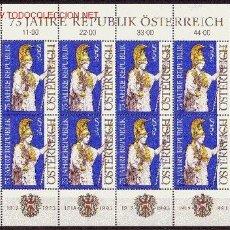 Sellos: AUSTRIA MP 1941*** - AÑO 1993 - 75º ANIVERSARIO DE LA REPÚBLICA. Lote 15010197