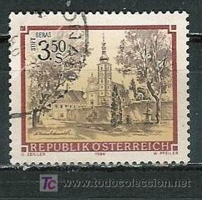 AUSTRIA 1984. MONASTERIO PREMOSTRATENSE, GERAS (Sellos - Extranjero - Europa - Austria)