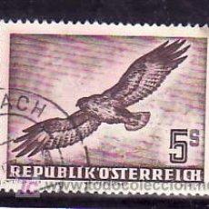 Sellos: AUSTRIA AEREO 58 USADA, FAUNA, PAJAROS,. Lote 10902084