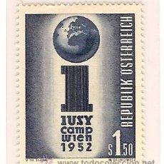 Sellos: SELLO DE AUSTRIA Nº 814 YVERT ET TELLIER 1952. Lote 24839645