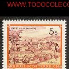 Sellos: AUSTRIA 1984. MONASTERIO DE LAVANTTAL. Lote 260788140