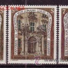 Sellos: AUSTRIA 1913/15*** - AÑO 1993 - ARTES PLASTICAS - ANIVERSARIOS DE ARQUITECTOS CÉLEBRES. Lote 22886036