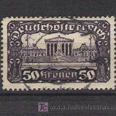 Sellos: CLASICOS AUSTRIA - AÑO 1919 - PARLAMENTO DE AUSTRIA EN VIENA - YVERT 222 USADO. Lote 17983971