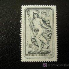 Sellos: AUSTRIA 1968 IVERT 1106 *** DÍA DEL SELLO. Lote 12919634