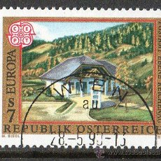 Sellos: AUSTRIA AÑO 1990 YV 1817*º EUROPA - OFICINA DE CORREOS - ARQUITECTURA - TELECOMUNICACIONES. Lote 12981975