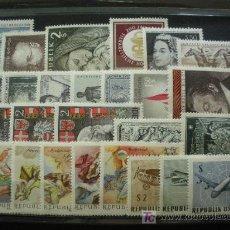 Sellos: AUSTRIA 1968 IVERT 1090/113 Y AEREO 63/65 *** AÑO COMPLETO. Lote 20664988