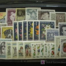Sellos: AUSTRIA 1966 IVERT 1036/65 *** AÑO COMPLETO. Lote 190845763