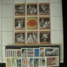 Sellos: AUSTRIA 1969 IVERT 1114/1149 *** AÑO COMPLETO. Lote 20767900