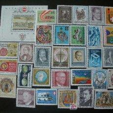 Sellos: AUSTRIA 1981 IVERT 1493/1523 Y HB 10 *** AÑO COMPLETO. Lote 287491768