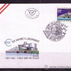 Sellos: AUSTRIA SPD 2110 - AÑO 1999 - 50º ANIVERSARIO DEL CONSEJO DE EUROPA. Lote 15313197