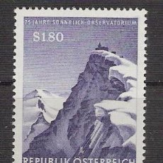 Sellos: AUSTRIA 1961 - 75 ANIVERSARIO OBSERVATORIO DE SONNBLICK - YVERT 931 ***. Lote 16263266