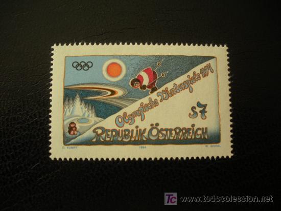 AUSTRIA 1994 IVERT 1947 *** JUEGOS OLIMPICOS DE INVIERNO DE LILLEHAMMER - DEPORTES (Sellos - Extranjero - Europa - Austria)
