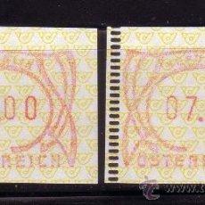 Sellos: AUSTRIA DISTRIBUIDOR 3*** - AÑO 1995 - CIFRAS. Lote 19556135