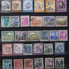 Sellos: AUSTRIA AUTRICHE ÖSTERREICH 30 SELLOS USADOS AUS-01. Lote 20880755