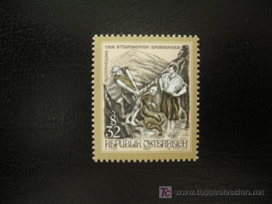 AUSTRIA 1999 IVERT 2128 *** CUENTOS Y LEYENDAS (Sellos - Extranjero - Europa - Austria)