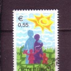 Sellos: AUSTRIA 2274 - AÑO 2003 - SELLO INFANTIL. Lote 21264270