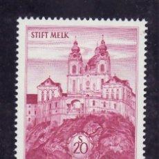Sellos: AUSTRIA 967 SIN CHARNELA, ABADIA DE MELK. Lote 21401120