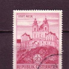 Sellos: AUSTRIA 967 - AÑO 1963 - MONUMENTOS - ABADIA DE MELK. Lote 21301041