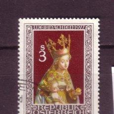 Sellos: AUSTRIA 1393 - AÑO 1977 - NAVIDAD - ESCULTURA RELIGIOSA. Lote 21362104