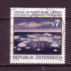 Sellos: AUSTRIA 2009 - AÑO 1996 - AEROPUERTO INTERNACIONAL DE VIENA. Lote 21416988