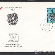 Sellos: AUSTRIA 1500 PRIMER DIA, TEMA EUROPA, FOLKLORE. Lote 22233326