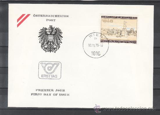 AUSTRIA 1459 PRIMER DIA, WIPA 1981, EXPOSICION FILATELICA INTERNACIONAL EN VIENA (Sellos - Extranjero - Europa - Austria)
