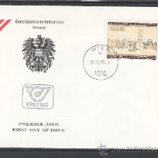 Sellos: AUSTRIA 1459 PRIMER DIA, WIPA 1981, EXPOSICION FILATELICA INTERNACIONAL EN VIENA. Lote 25054904