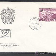 Sellos: AUSTRIA 1402 PRIMER DIA, TEMA EUROPA, CASTILLO DE RIEGERSBURG . Lote 22288275