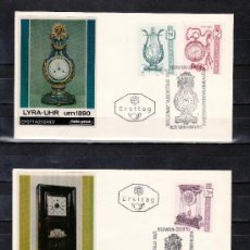 Sellos: AUSTRIA 1173/5 PRIMER DIA CONMEMORATIVO, RELOJ, . Lote 25033949