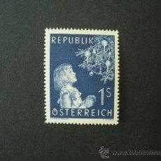 Sellos: AUSTRIA 1954 IVERT 842 *** NAVIDAD. Lote 24602541