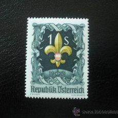 Sellos: AUSTRIA 1951 IVERT 800 *** VII JAMBOREE MUNDIAL EN BAD ISCHL. Lote 25374314